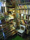 Photograph of inside the bookshop