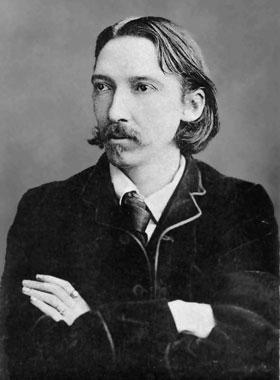 Photograph of Robert Louis Stevenson