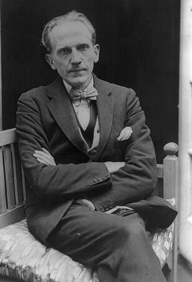 Photograph of A.A. Milne