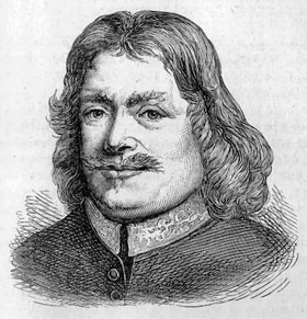 Drawing of John Bunyan