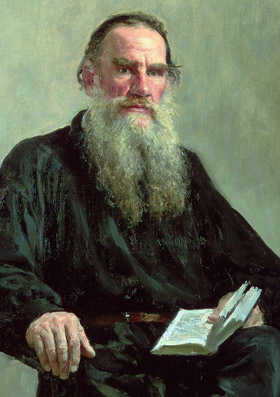 Painting of LeoTolstoy