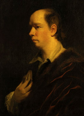 Painting of Oliver Goldsmith