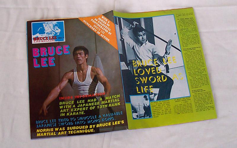 bruce lee amp jkd magazine no1 � paramount books