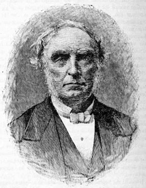 Drawing of James Legge