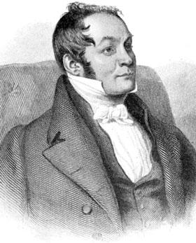 Drawing of Richard Harris Barham