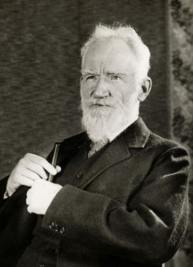 Photograph of George Bernard Shaw