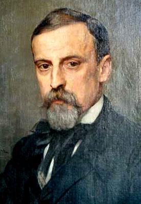 Painting of Henryk Sienkiewicz