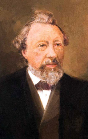 Painting of Johan Hendrik Caspar Kern