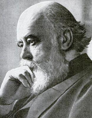 Photograph of Oliver Joseph Lodge