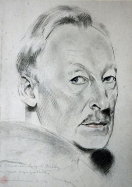 Drawing of Auguste Bailly