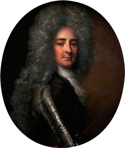Painting of Antoine Hamilton