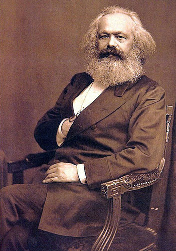 Photograph of Karl Marx