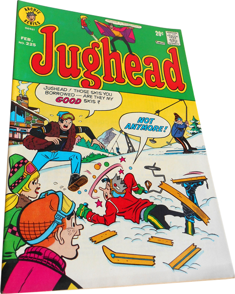 Photograph of the Jughead comic number 225