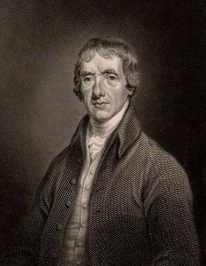 Painted portrait of John Aikin