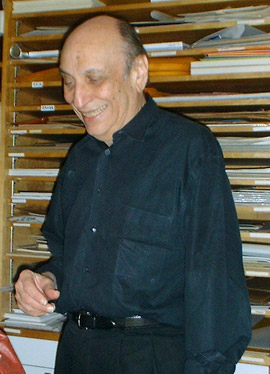 Photograph of Milton Glaser