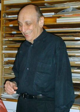 Photograph of Milton Glaser