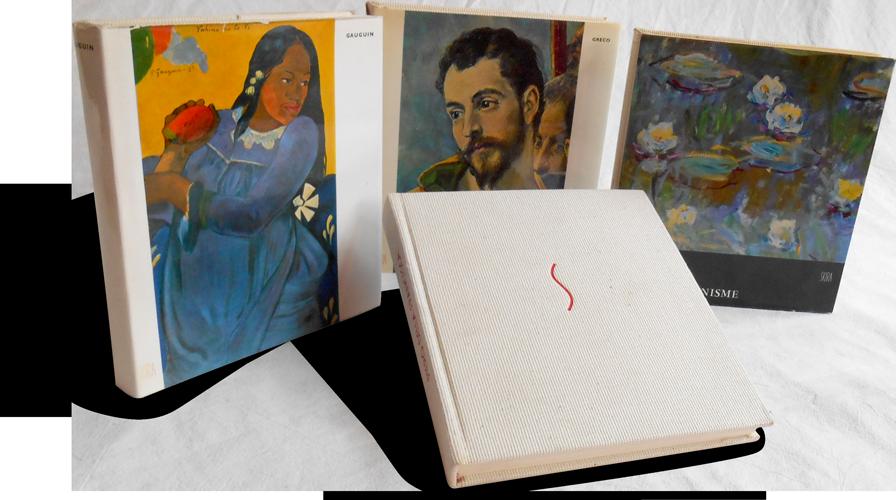 Photograph of a set of books from the Le Goût de notre temps collection