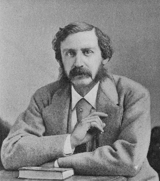 Drawing of Bret Harte