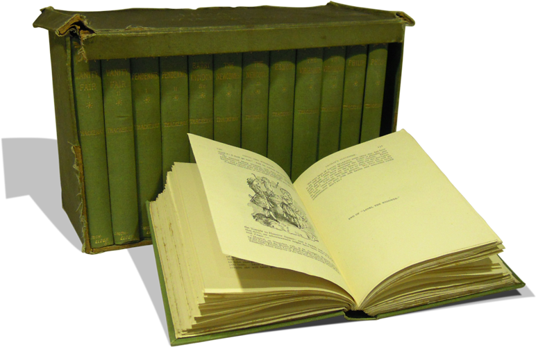 Photograph of the box set