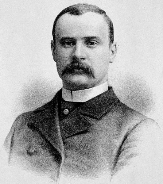 Drawing of Frederick Treves